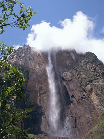 Angel Falls, Canaima National Park, Venezuela, South America-Charles Bowman-Photographic Print