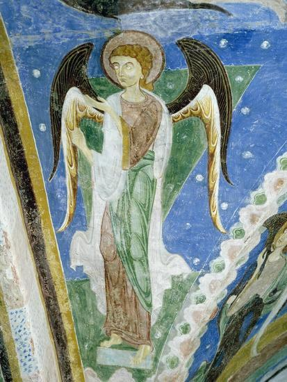 Angel Figure, Fresco, Crypt of Monte Maria Abbey, Near Mals--Giclee Print
