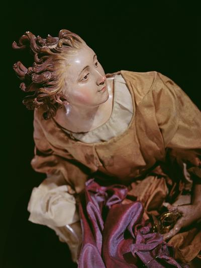 Angel, from the Christmas Creche and Tree (Terracotta and Cloth)--Giclee Print