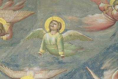 Angel, from the Lamentation, C.1305 (Detail)-Giotto di Bondone-Giclee Print