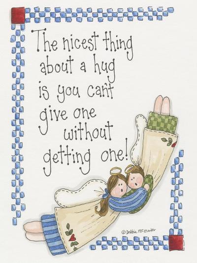Angel Hug-Debbie McMaster-Giclee Print