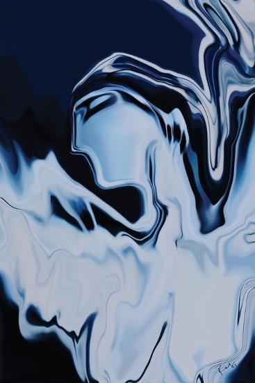 Angel in Blue-Rabi Khan-Art Print