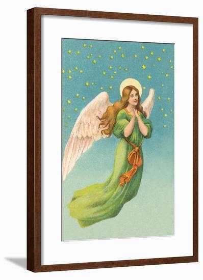 Angel in Flight--Framed Art Print
