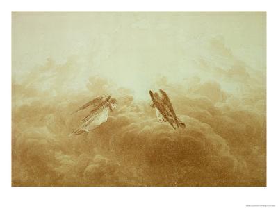 Angel in Prayer, circa 1826-34-Caspar David Friedrich-Giclee Print