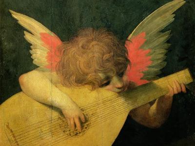 Angel Musician, c.1520-Rosso Fiorentino (Battista di Jacopo)-Giclee Print