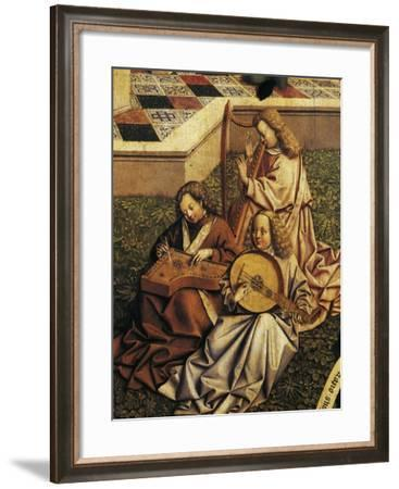 Angel Musicians, Detail from Source of Grace--Framed Giclee Print