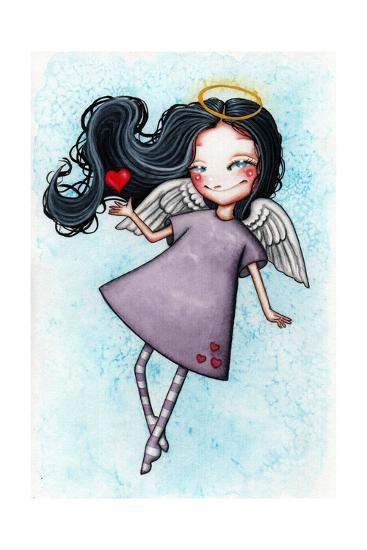Angel of Love-Helena Reis-Giclee Print
