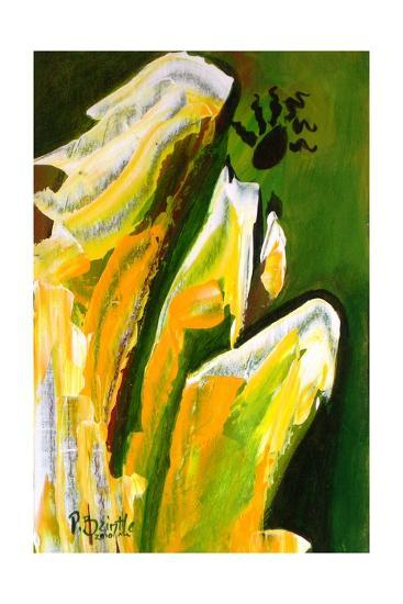 Angel of Reverence, 2010-Patricia Brintle-Giclee Print