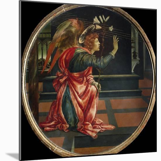 Angel of the Annunciation, by Filippino Lippi-Filippino Lippi-Mounted Photographic Print