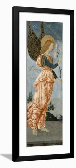 Angel of the Annunciation, C.1500-Antoniazzo Romano-Framed Giclee Print
