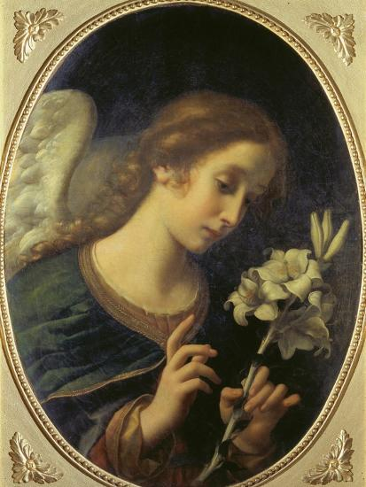 Angel of the Annunciation-Carlo Dolci-Giclee Print