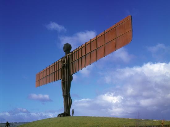 Angel of the North, Gateshead, Tyne and Wear, England-Robert Lazenby-Photographic Print