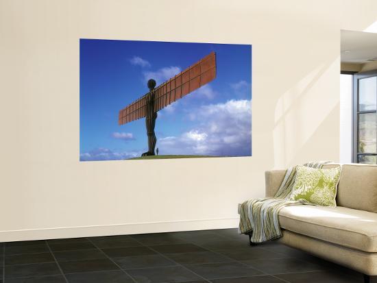 Angel of the North, Gateshead, Tyne and Wear, England-Robert Lazenby-Wall Mural