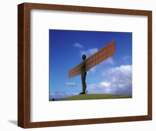 Angel of the North, Gateshead, Tyne and Wear, England-Robert Lazenby-Framed Photographic Print