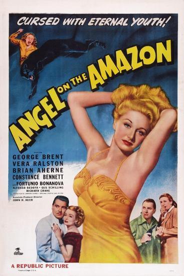 Angel on the Amazon, 1948--Art Print