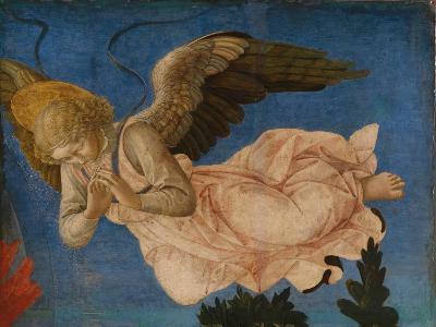 Angel (Panel of the Pistoia Santa Trinità Altarpiec), 1455-1460-Francesco Di Stefano Pesellino-Giclee Print
