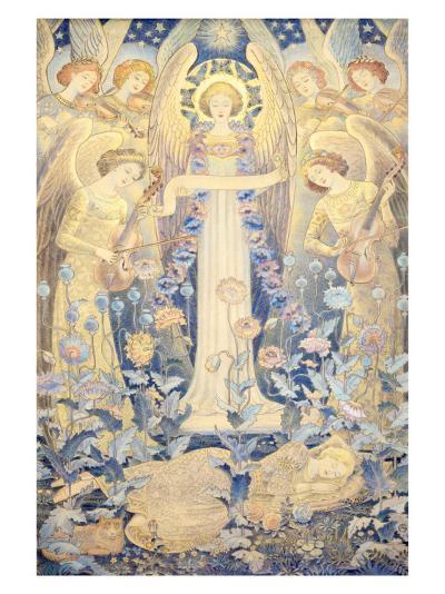 Angel Sleeping Beauty Princess--Giclee Print