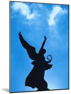 Angel Statue Under Blue Sky - Architecture Montreal
