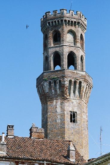 Angel Tower, 14th-15th Century, Vercelli, Piedmont, Italy--Photographic Print