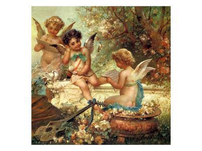 Angel Trio, 1859--Giclee Print