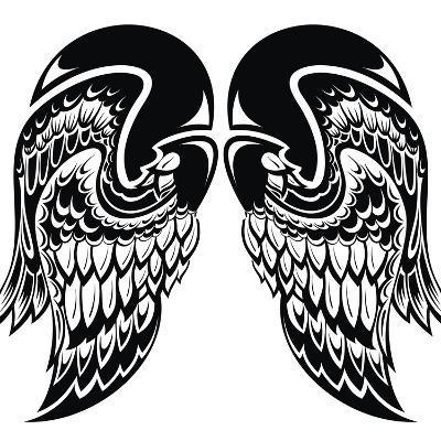 Angel Wings-worksart-Art Print