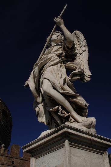 Angel with a Spear-Domenico Induno-Giclee Print