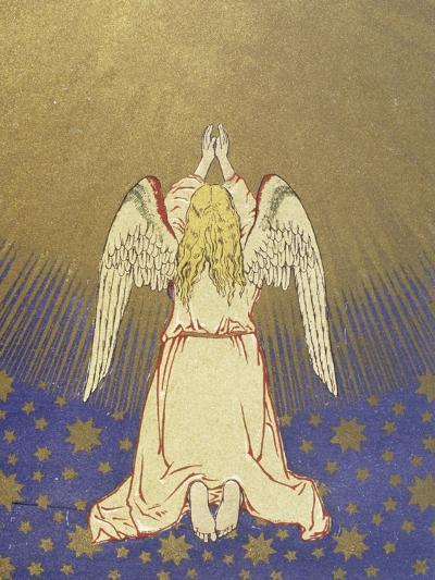 Angel with Arms Raised to Heaven--Giclee Print