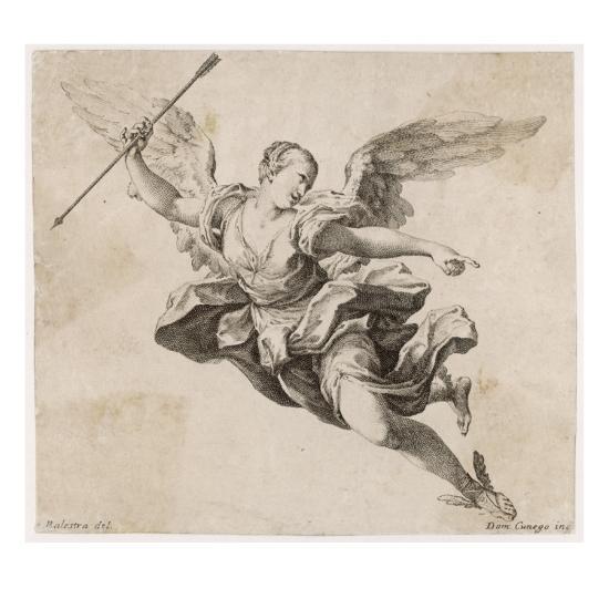 Angel with Arrow--Giclee Print
