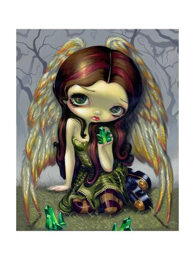 Angel with Emeralds-Jasmine Becket-Griffith-Art Print