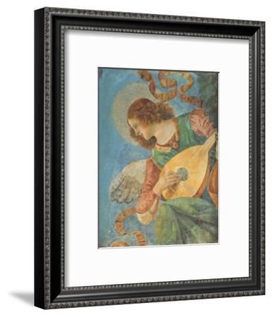 Angel with Lute-Melozzo da Forlí-Framed Art Print