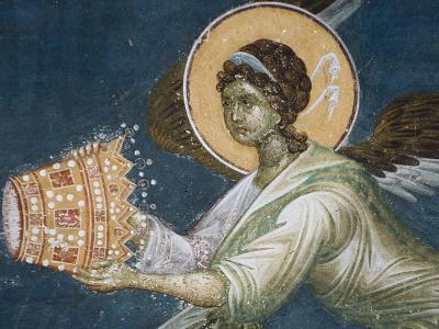 Angel with the Crown, 1321-1322--Giclee Print
