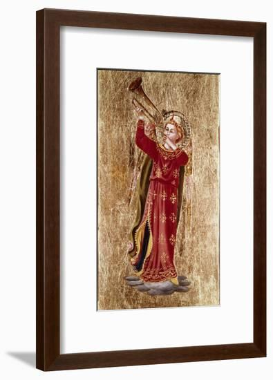Angel with Trumpet-Fra Angelico-Framed Giclee Print