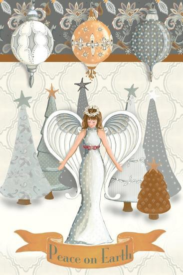 Angel Wonderland Earth-Andi Metz-Art Print