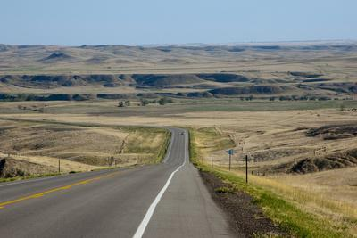 Scenic Byway, Cheyenne River Sioux Reservation, South Dakota