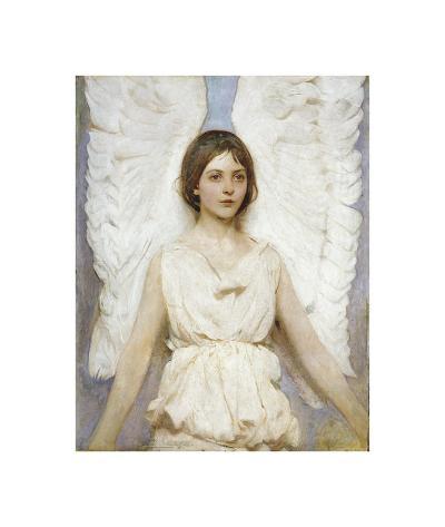 Angel-Abbott Handerson Thayer-Art Print