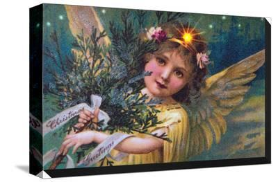 Angel--Stretched Canvas Print