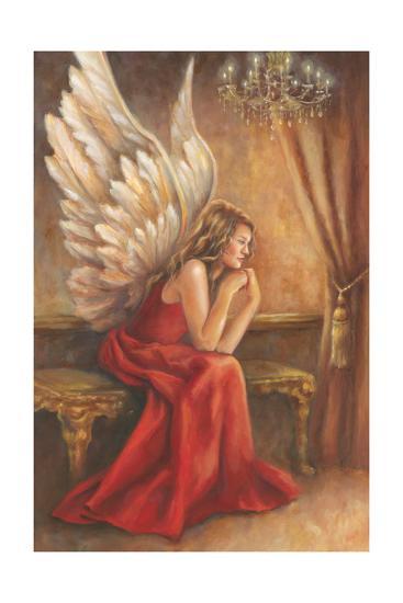 Angel-Ella Belamar-Art Print