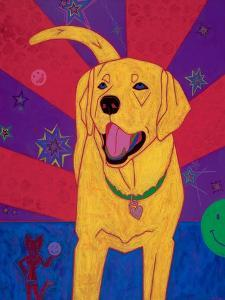 Yellow Happiness by Angela Bond
