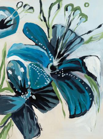 Flowers of Azure I by Angela Maritz