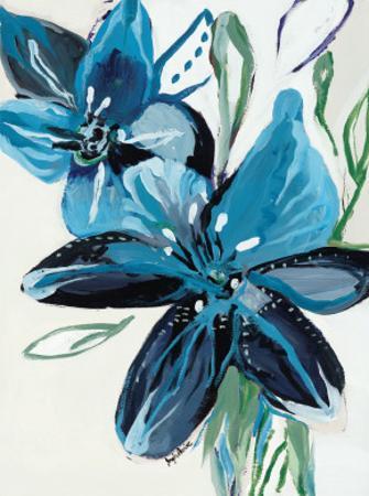 Flowers of Azure II by Angela Maritz