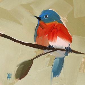 Bluebird No. 21 by Angela Moulton