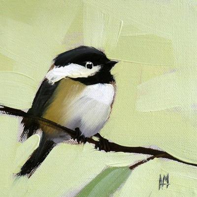 Chickadee No. 143 by Angela Moulton