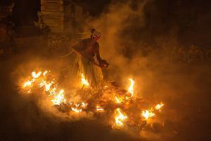 Fire Dancer by Angela Muliani Hartojo