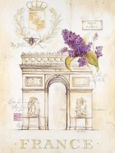 Arc De Triomphe Lilacs by Angela Staehling