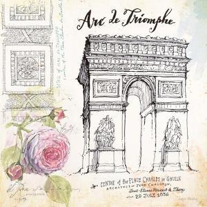Arc De Truimphe Sketchbook by Angela Staehling