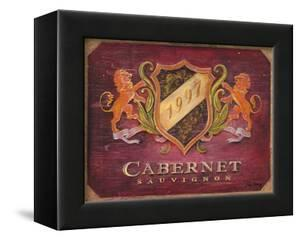 Cabernet Label by Angela Staehling