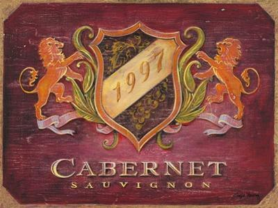 Cabernet Label by Angela Staehling