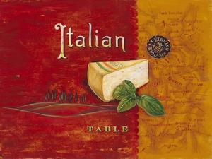 Italian Table by Angela Staehling