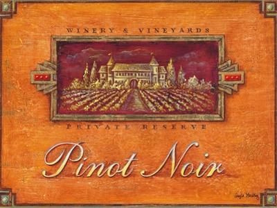 Pinot Vineyard by Angela Staehling