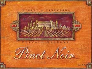 Pinot Vineyard by Angela Staehling